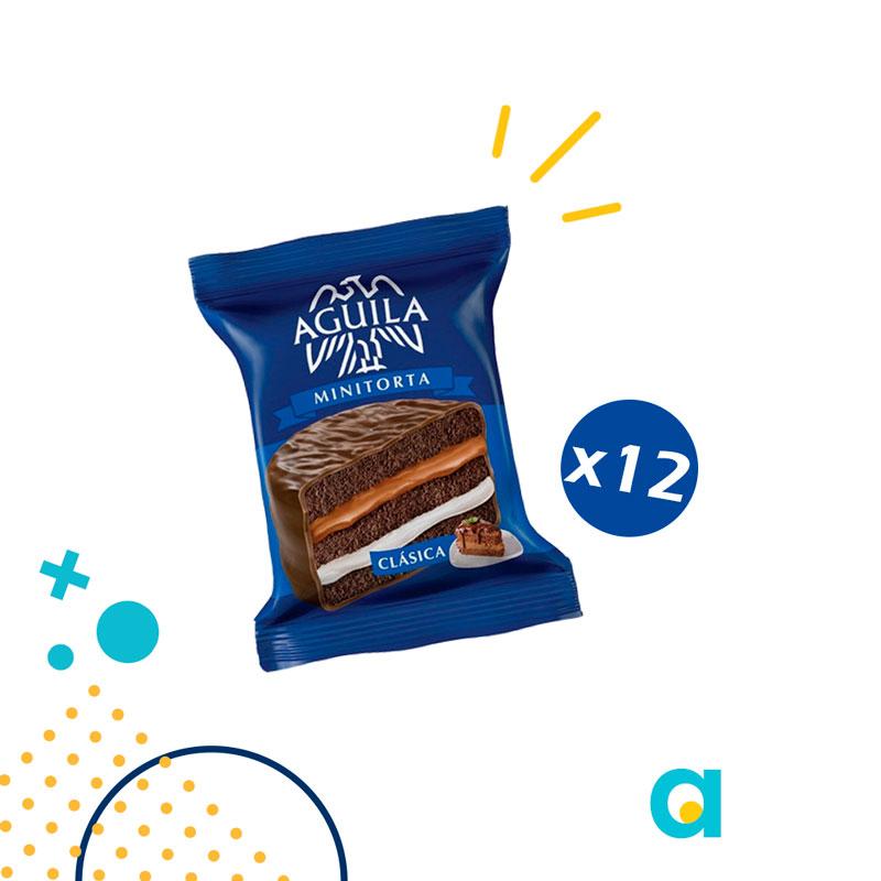 Alfajor mini torta clasica AGUILA x 864 gramos (12 ...